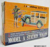 Details zu Vintage Hubley Modell A Kombi 854-5K Modellauto Diorama Junkyard Estate – Model cars