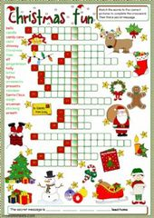 Christmas time – a number of alternative – Interactive worksheet