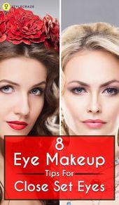 Augen zu schließen ist noch lange nicht das Ende der Welt! Wir haben einige spezielle Tipps …   – Beauty: Makeup Application