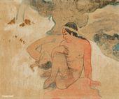 Was! Bist du neidisch? (Aha oe feii?) (1894) von Paul Gauguin. Original aus dem …