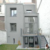 # reihenhaus #planomatic #stadthaus #frischen #modernes – anbau –    – Anbau Ideen