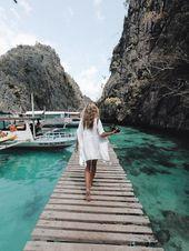 Reisen auf den Philippinen: Coron Reiseroute Instagram: @lydiaxcollins Philippine …   – travel photography