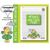 Planetpals Seasonal Spring Writing Page, Poem & Coloring Sheet Earth Science Activity