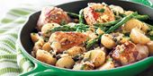 Lemon-Caper Chicken, Potato & Asparagus Skillet | Sobeys Inc.