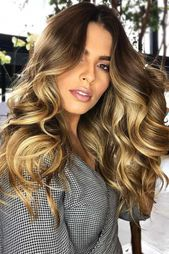Soft Bouncy Curls, Long hair can be tough to handle– make it much easier by hav…