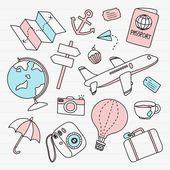 Obtain free vector of Hand drawn journey aspect vector set 936667