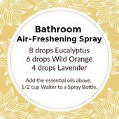 4 einfache natürliche DIY-Sprays mit ätherischen Ölen für Ihr Zuhause   – Essential oils
