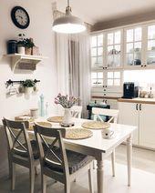 10 Arten, die perfekt für Ihren kleinen Kochbereich sind # kitchenaid # kitchendesign # kitch…
