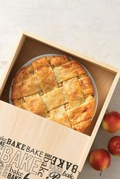 Blaues Band Karamell-Apfelkuchen Rezept   – Pie