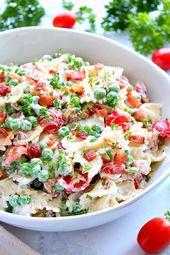 Salade de pâtes Ranch Bacon   – Snack Foods