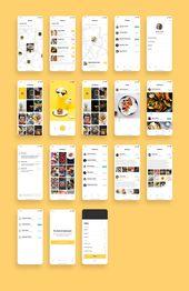 Foodiez Restaurant App UI Kit – UI Place   – App