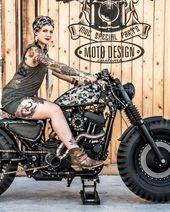 La TANKSTER su base Harley Davidson Sportster 883 pare essere scappata dalla pel…