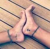 Anker Tattoo Thema: 54 coole Ideen für jedes dein nächstes Tattoo – #Anker #Cool #Ideen #M … – #anker