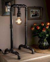 DIY Rohr Lampen Ideen