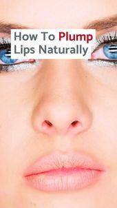 So erzielen Sie gesunde und leuchtende Lippen