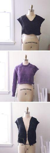 Improv: Grundmuster für einen nahtlosen Pullover von oben nach unten – Fringe Association