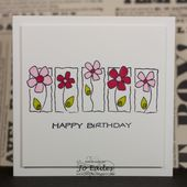 Either just print on card and colour in, or use Silhouette drawing pens – Zeichnen und Malen