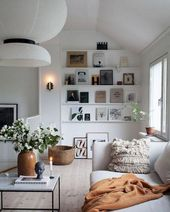 15 Minimalist Bookshelf Decorating Ideas For Amaze Living Room Design