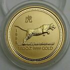 1998 Australia Lunar Series 1 Tiger 1 10 Oz 9999 Fine Gold Low Mintage Coins Papermoney Gold Gold American Eagle Gold Coins