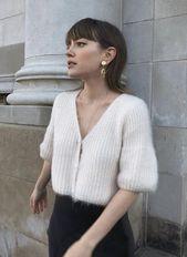 cropped/short sleeve sweater shirt – ◇ Style