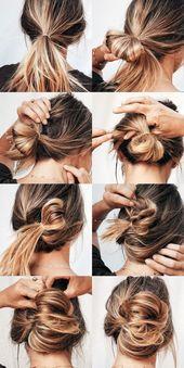 Hot Mess Hair #makeupideas #makeup #makeupartist #makeuplife #makeuptutorial