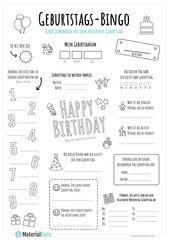 Bingo Geburtstag