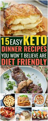 15 Easy Keto Dinner Recipes That'll Turn You into a Fat-Burning Machine