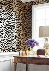 Moodboard Collection | Animal Print Interior Decor Trend for 2019 #bathroomwallp…