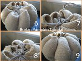 Are you ready for some cute Burlap pumpkins?     You will love these because the…