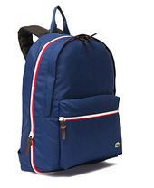 13ab2d3b6829 FILA Heritage Court Backpack Sports Back to School University Black  F3BPZ301