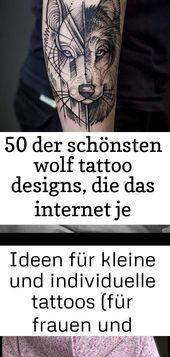 50 der schönsten wolf tattoo designs, die das internet je gesehen hat #das #der #designs #di… 18