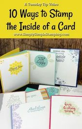 Card Decoration Design: 10 Ideas for the Inside of Your Greeting Cards