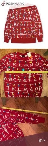 🎄NWT Stranger Things Christmas Sweater Men's M🎄 NWT Men's M Stranger T…