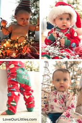 Baby's First Christmas Pictures DIY and Fun!  – Baby's First Christmas Ideas | Christmas Baby Photography