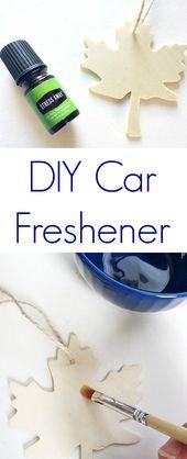 DIY Auto Lufterfrischer   – essential oils