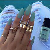 Möchten Sie diesen Herbst Sardinennägel probieren? Schauen Sie sich an, was für …   – Summer Nails