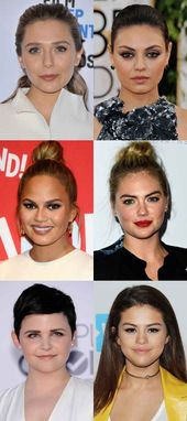 Celebrity #examples #of #the #round #face #shape.