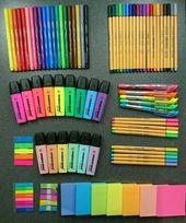 School supplies shared by Hetu Tetu on We Heart It