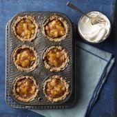 Mini-Apfelkuchen ohne Zuckerzusatz