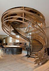 Architektur und Design von spektakulären Treppen