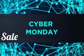 Sale Technology Banner for Cyber Monday (Graphic) by ojosujono96 · Creative Fabrica