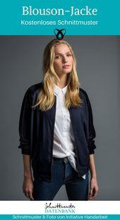 Blouson-Jacke für Damen