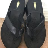 Volatile Shoes | Flip-Flops By Volatile, Black, Size 6 | Color: Black | Size: 6,  #Black #Col…