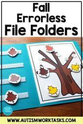 Errorless Fall File Folder Actions for Particular Training and Autism