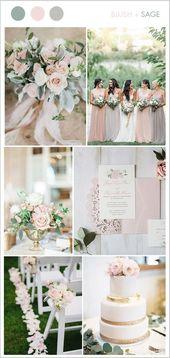 8 schöne erröten u. Weiche rosa Hochzeits-Farben, damit Bräute versuchen – El…