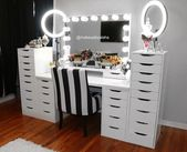 Black Dressing Table IKEA – Black Dressing Table IKEA – Here are some pictures of design ideas for your home furniture design related to IKEA's Black Dressing Table. … #Coffee table