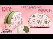 How to make a half moon bag | round case …