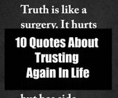 10 Quotes About Trusting Again In Life – Hypocrite quotes