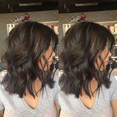 23+ Beste gewellte Frisuren für mittellanges Haar