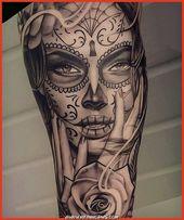 Die Besten Pure Tattoo Chicano hinaus Instagram: Dieser Tag jener Toten von @geir_north #puro…